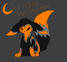 Halloween Sona Chrissie by TwilightTheEevee