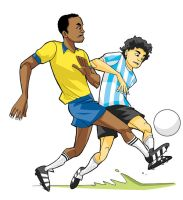 soccer duel by paragraphworld