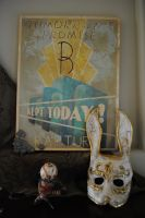 Bioshock props and painting by Rick-is-Art
