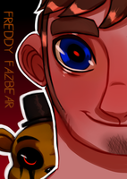 T5NG_ Freddy Fazbear Poster by Welcoming-Meg