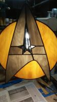 Star Trek Stained GLass by PoopTuna