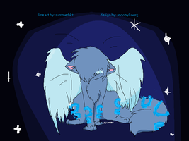 winged glow kitty cat CLOSED by snoopyluver5