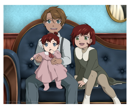Tiny Uncle Tiny Aunt by Bitter-Cherry