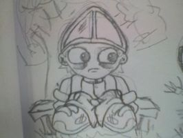 emo pope rough concept? by JeVuS