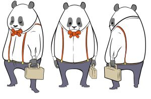 Business Panda Rotation by hamadubai
