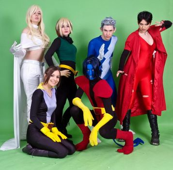Xmen - Friends and Foes by KellyJane