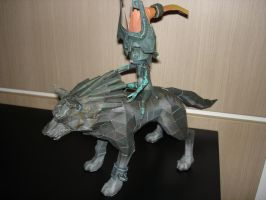 Midna and Wolf Link by BrunoPigh