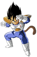 VEGETA CHICO by BardockSonic