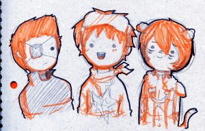 Gingers...Gingers Everywhere... by cinnamelon