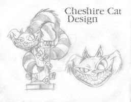 Cheshire Cat by Indytoo