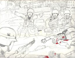 3rd person View of War by CrashyBandicoot
