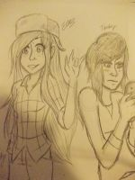 wendy and tambry by Kona-chan19