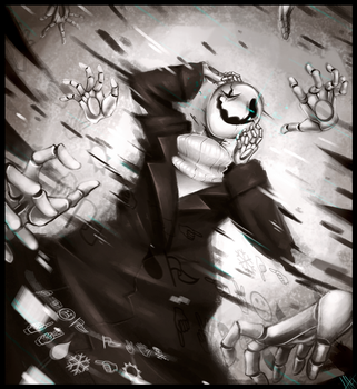 Scattered through Space and Time - W. D. Gaster by WalkingMelonsAAA