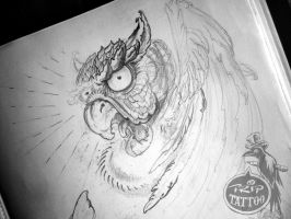 Owl Sketch by HIGHTRIP