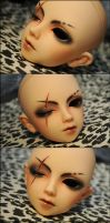 Face-up+Scar: Volks Scarface Cecile - 4 by asainemuri