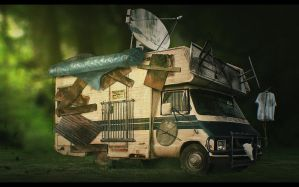 Old Mans RV by codyforemanart