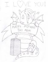 Happy Mothers Day Dragon by Pyro-Vampire