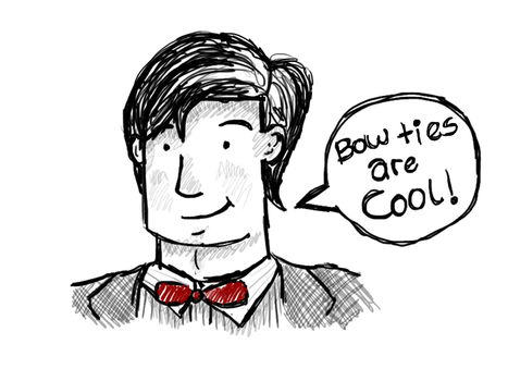 Bow ties are cool by CrazyAboutMusic