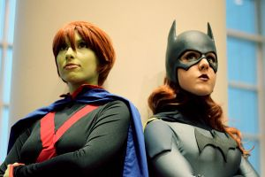Red-headed Superheroines by jillian-lynn