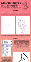 Drawing with Reporter-Derpy (mlp:fim tutorial) by Keep-Yourself-Alive