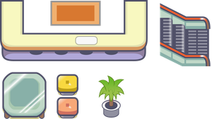pokemon game asset set 1 by Swivel-Zimber
