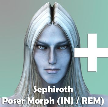 Sephiroth Poser Character by 3D-Fantasy-Art