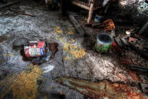 Forgotten workshed by photorealm