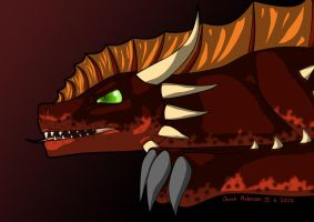 Snarly Dragon! by Frogata
