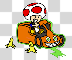 You've unlocked a new kart by Sorachi-Jirachi