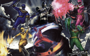 Chouriki Sentai Ohranger Wallpaper by ShoguN86