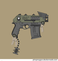 Coteaz artificer bolt pistol by Robbe25
