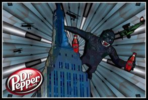 Dr. Pepper Is King by SCT-GRAPHICS