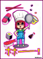 Maija the cook by mosaicvirus