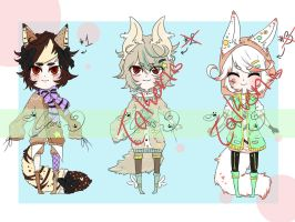 [Lowered]Set Price Adopts - OPEN by Kyun-Adopts