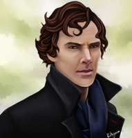 Sherlock by kittenangel116
