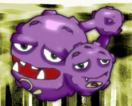 Weezing by Spikeh-Kirby