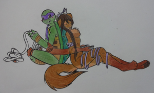 TMNT: I'm not into books by wolfangel962