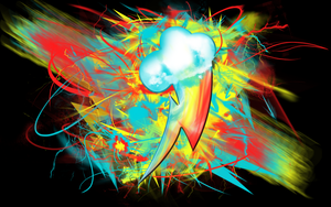 Rainbow Dash's Bolt by tvolcom322