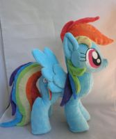 Rainbow Dash Plush by SillyBunnies