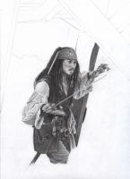 Jack Sparrow WIP 4 by D17rulez