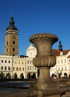 Main Square in Ceske Budejovice02 by abelamario
