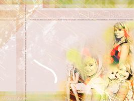 Wallpaper Ashley Tisdale by miney004