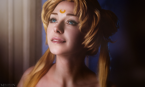 Sailor Moon - Princess Serenity by MilliganVick