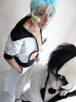 Ulquiorra and Grimmjow by Zettai-Cosplay
