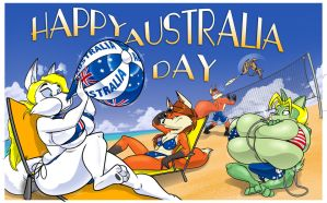Australia Day by Kleiny