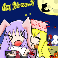 Happy Halloween Collab by KrazyCatQueen