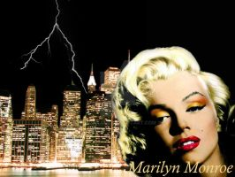 Marilyn Monroe by SiljeLull