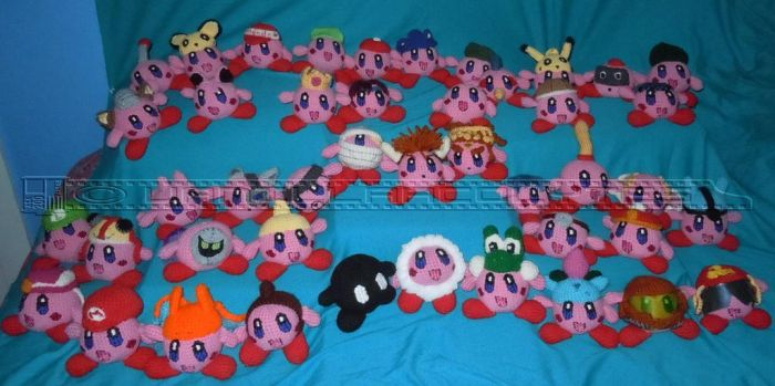 Super Smash Bros Kirbys for Sale by VanillaAcolytes
