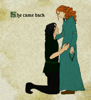 She came back - colour by quigui