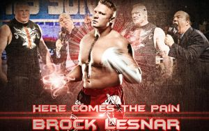 Here Comes The Pain - Brock Lesnar Wallpaper by xXMAGICxXxPOWERXx